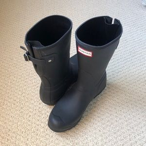 Hunter Short Matte Rain Boots